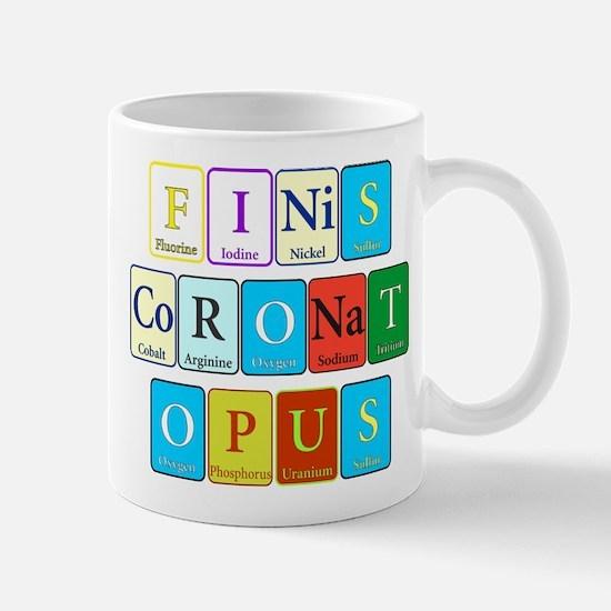 Finis Coronat Opus Mug
