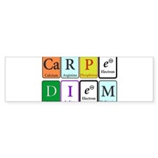 Carpe Diem Bumper Bumper Sticker