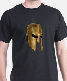 Spartan Warrior Helme T-Shirt