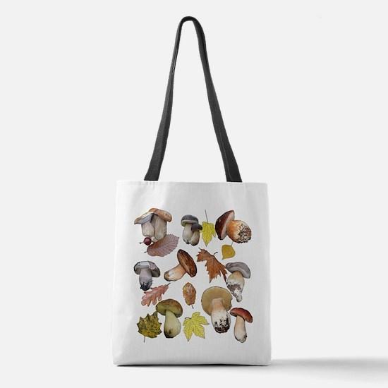 Boletus Polyester Tote Bag