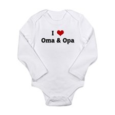 I Love Oma & Opa Body Suit