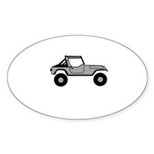 Go Topless Oval Decal