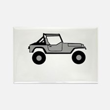 Go Topless Rectangle Magnet