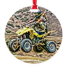 ATV Off Road Running Ornament