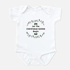 Christmas Songs Infant Bodysuit