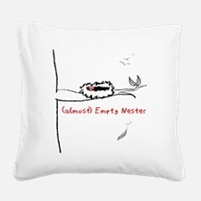 Almost Empty Nester Square Canvas Pillow