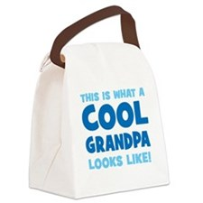 WhatCoolGrandpaLooksLike copy Canvas Lunch Bag