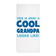 WhatCoolGrandpaLooksLike copy Beach Towel