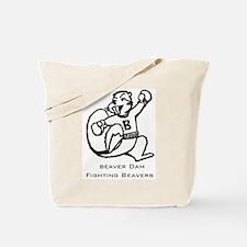 Beaver Dam Fighting Beavers Tote Bag