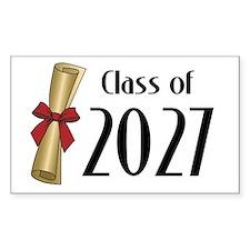Class of 2027 Diploma Decal