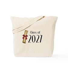 Class of 2027 Diploma Tote Bag