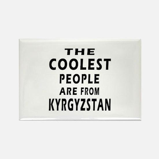 The Coolest Kyrgyzstan Designs Rectangle Magnet