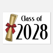 Class of 2028 Diploma Postcards (Package of 8)