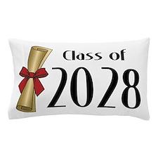 Class of 2028 Diploma Pillow Case