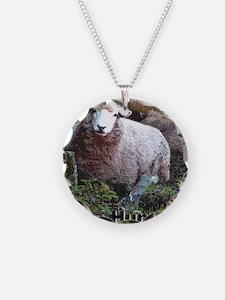 Baaa Humbug Sheep Necklace