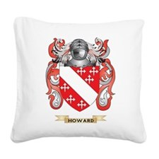 Howard Coat of Arms (Family Crest) Square Canvas P