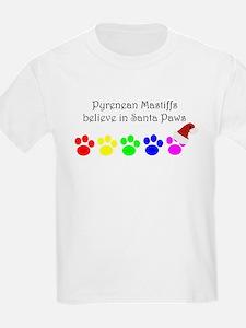 Pyrenean Mastiffs Believe Kids T-Shirt