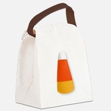 Candy Corn Canvas Lunch Bag