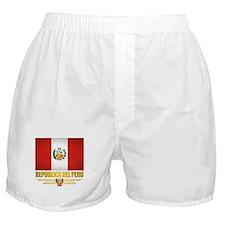 Flag of Peru Boxer Shorts