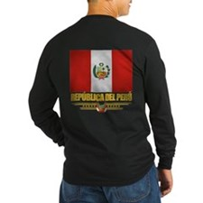 Flag of Peru Long Sleeve T-Shirt