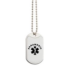 Paramedic Star Of Life Dog Tags