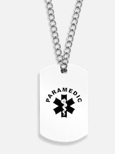 Paramedic Star Of Life Dog Tags