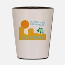 Los Angeles Mexico Shot Glass
