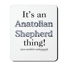 Anatolian Thing Mousepad
