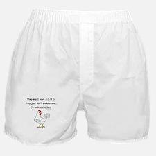 ADHD Chicken Boxer Shorts