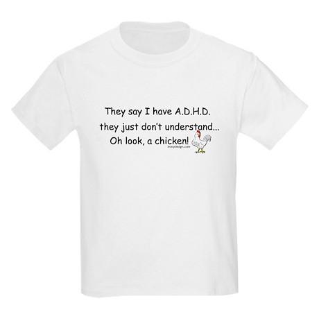 ADHD Chicken Kids Light T-Shirt