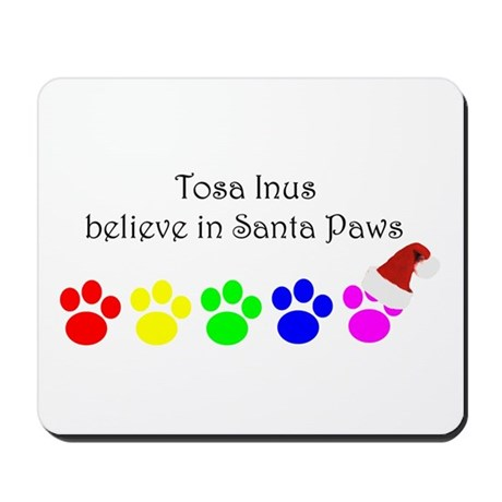 Tosa Inus Believe Mousepad