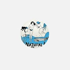 Natural Life Mini Button (10 pack)