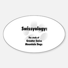 Swissyology Oval Decal