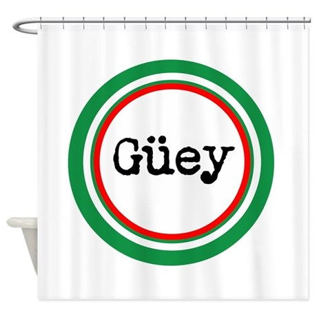 Mexican Spanish Slang Shower Curtain By Livingthedream2
