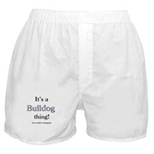 Bulldog Thing Boxer Shorts