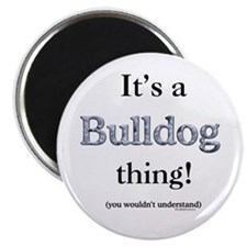 Bulldog Thing Magnet