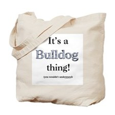 Bulldog Thing Tote Bag