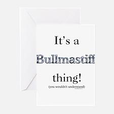 Bullmastiff Thing Greeting Cards (Pk of 10)