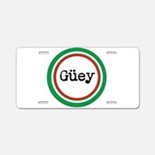 Mexican Spanish Slang Aluminum License Plate
