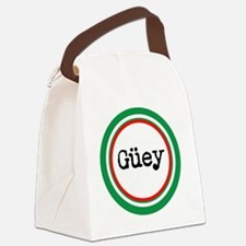 Mexican Spanish Slang Canvas Lunch Bag
