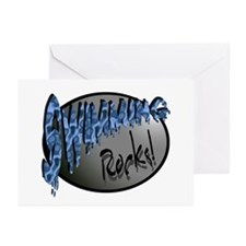 Swimming Rocks! Greeting Cards (Pk of 10)