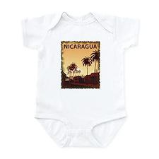 Vintage Nicaragua Infant Bodysuit