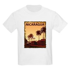 Vintage Nicaragua Kids T-Shirt