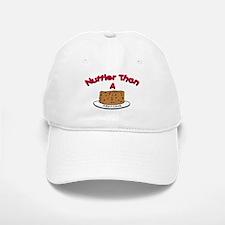 Nuttier Than a Fruitcake Baseball Baseball Cap