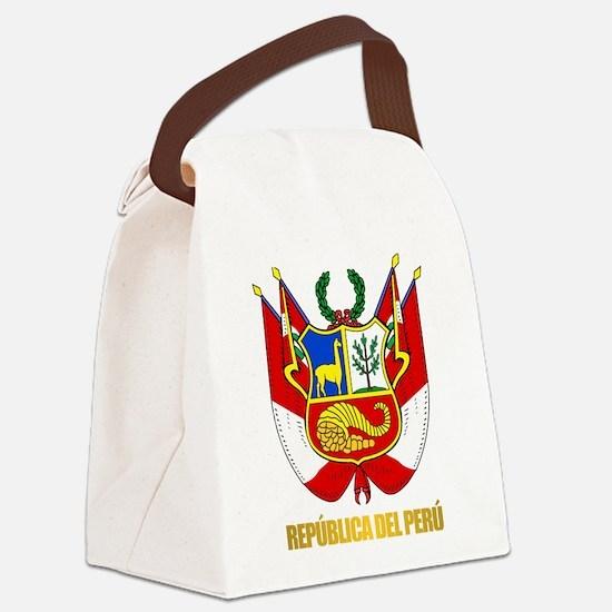 Peru COA Canvas Lunch Bag