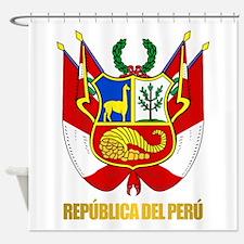 Peru COA Shower Curtain