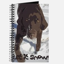 Lab in the Snow Journal
