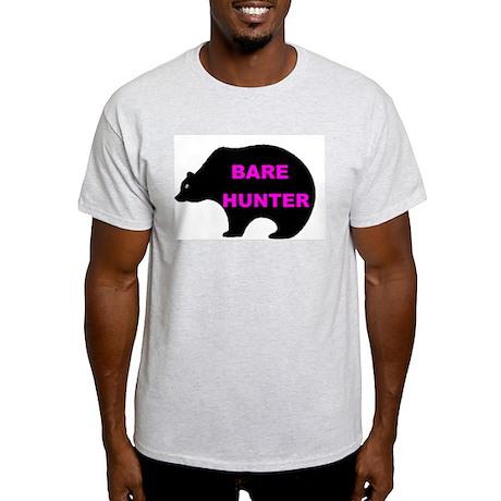 BARE HUNTER Ash Grey T-Shirt