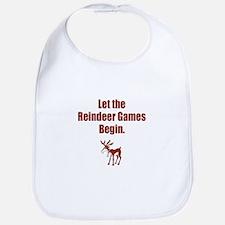 Let the Reindeer Games Begin Bib