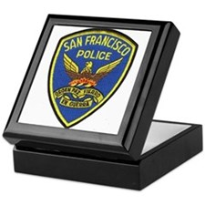 San Francisco PD Keepsake Box